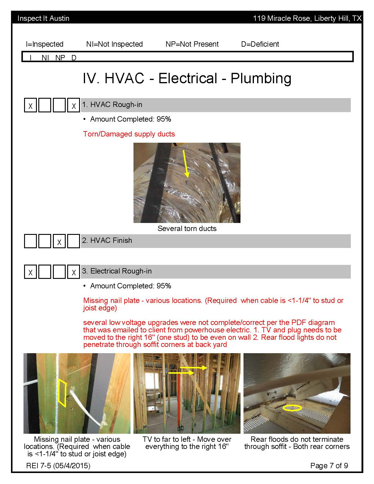 Phase Inspection - Sample Report | Inspect It